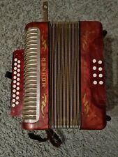 Akkordeon Hohner Corso   Ziehharmonika 8 Bass  c/f ohne Koffer  (1)