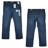 Lee Premium Stretch Classic Straight Leg Jeans Men's Size 40x32 Dark Wash New