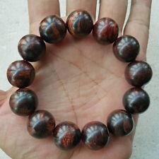 Gorgeous 18 MM Akar Laka Bracelet Dalbergia Parviflora 13 Beads Kayu Menang