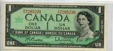 New listing 1967 Bank Of Canada One 1 Dollar Bank Note # 4
