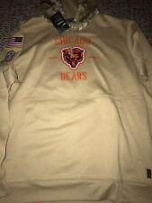 Mens Nike Chicago Bears 2019 Salute To Service Hoodie Sweatshirt Size 2XL