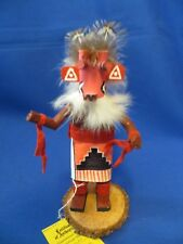 New! Authentic Navajo PINK HU Kachina Doll by Craig Begay Hand Crafted