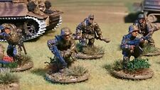 28mm Waffen SS Panzer Grenadier Squad comprising 10 figures #C