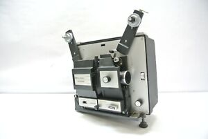 Vintage Bell & Howell Autoload 471A 8mm & Super8 Movie Projector -Works but loud