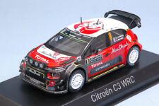 1 43 Norev CITROEN C3 WRC #8 Rally Monte Carlo Lefebvre/moreau 2017