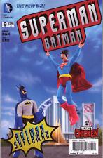 BATMAN SUPERMAN #9 - New 52 - VARIANT COVER 1:25