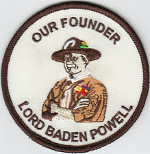 Boy Scout Badge OUR FOUNDER Lord BADEN-POWELL