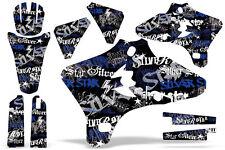 Dirt Bike Graphic Kit Decal Wrap For Yamaha YZ250F YZ450F 2003-2005 SSSH BLU BLK