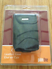 PALM Life Drive Black Leather Case Holder 32199WW NEW LifeDrive Genuine