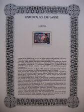Irrtümer auf Briefmarken / Liberia 1988 Mi 1404 : Präsident Doe Richter Gbalazeh