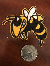 "GT Georgia Tech Yellow Jackets Embroidered Iron On Patch 3"" x 2.5"" Nice"