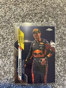 F1 Topps Chrome - Max Verstappen Lot Of 5