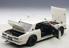 Autoart NISSAN SKYLINE GT-R KPGC10 TUNED VERSION WHITE 1/18 Scale New In Stock!