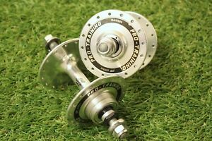 Track front hub 32 hole silver 9mm bolt on for fixie /& urban bikes