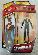 Catwoman Batman DC COMICS multiverse action figure NISB Arkham