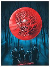 Gary Pullin-La transformation. Fringe TV Show. Limited Print numéroté. poster
