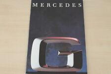 184430) Mercedes 300 GD 350 GD Turbo 230 300 GE Prospekt 05/1992