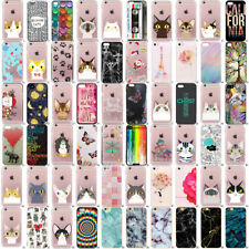Silicona Pictórico Funda Carcasa Flip TPU Case Cover Para iPhone 6 6s 7 Plus