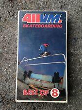 411Vm Best Of Volume 8 Skateboard Video Magazine Vhs Tape Nos