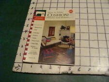 Singer Sewing Library - 1961 How To Make Cushions, Pillows - V Clean 32pgs