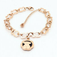 New Women Fashion Bear Series 15 Chain Bracelet Bangle Charm Jewelry Gift