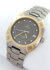 Omega Seamaster Polaris Herrenuhr Titan/Gold Brillanten Diamanten