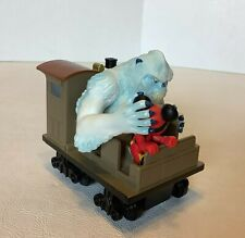 Mickey Mouse Yeti Abominable Snowman Expedition Everest Pull-Back Toy Train