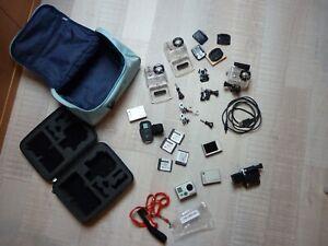 GoPro Hero 2 Paket mit viel Zubehör