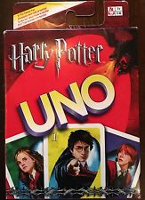 NEW! HARRY POTTER UNO Card Game Mattel 2005 Collectible - Factory Sealed!