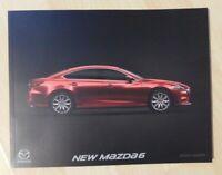 Mazda 6 Brochure 2018 / 2019 - Saloon & Estate
