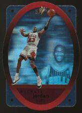 1996-97 UD SPX Die Cut Michael Jordan Hologram Card #8