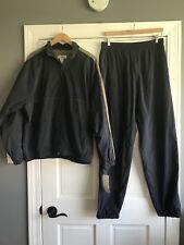 Penguin Sport Windbreaker Jacket & Pants Track Suit Mens Medium