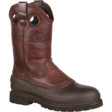 Georgia Boot muddog стальной носок Веллингтон рабочие ботинки