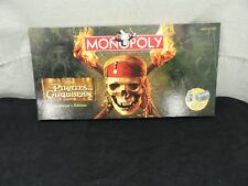 MONOPOLY PIRATES OF THE CARIBBEAN COLLECTOR'S EDITION 100% COMPLETE