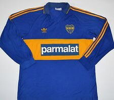 1992-1993 BOCA JUNIORS ADIDAS HOME FOOTBALL SHIRT (SIZE L)