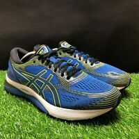 ASICS Gel-Nimbus 21 Mens Blue Green Athletic Running Shoes Size 12