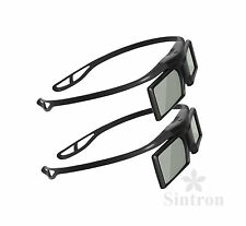 [Sintron] 2X 3D RF Active Glasses for Epson EH-TW6100 EH-TW6100W 3D Projector UK