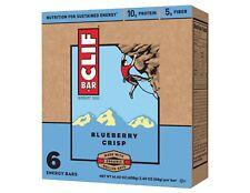 NEW SEALED CLIF ENERGY BAR BLUEBERRY CRISP 14.40 OZ 9G PROTEIN NON-GMO