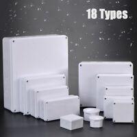 Project Box Wasserdichtes Gehäuse für elektronische Gehäuse ABS-Kunststoff neu