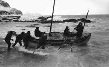 James Caird Launch Elephant Island 1916 Shackleton 7x5 Inch Reprint Photo