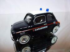 MONDO MOTORS FIAT 500 - CARABINIERI - BLUE 1:43 - GOOD CONDITION