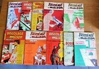 Lot de 10 livres sur Bricolage Illustrations de Maurice TILLIEUX