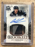 17-18 UD The Cup Autographed Rookie Patch #153 JACK ROSLOVIC /249