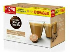 80 Capsule Caffè Gusto CORTADO Nescafè DOLCE GUSTO Originali capsule dolcegusto