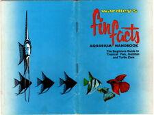 New listing Wardley's Fun Facts Aquarium Handbook, ca mid-1960's