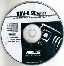 ASUS K8V-X SE  Motherboard Drivers Installation Disk M616