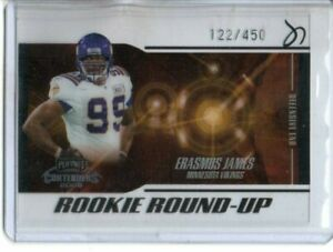 2005 PLAYOFF CONTENDERS ERASMUS JAMES ROOKIE ROUND-UP #rd 450