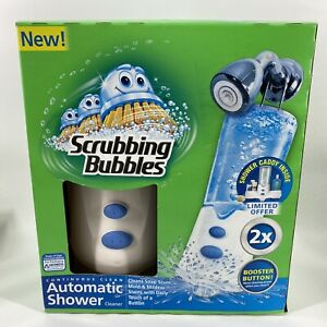 NEW Scrubbing Bubbles Automatic Shower Cleaner 34 oz. Shower Caddy Sealed