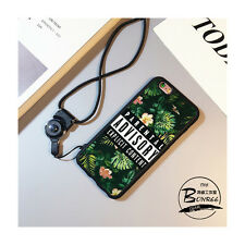 Creative Flowers Multi-Use Cover Case with Necklace For iPhone 6/6s Bl