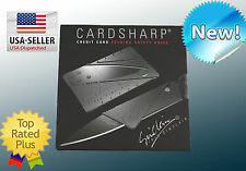 Cardsharp Multi Purpose Credit Card Pocket  Survival Tool Steel retail package